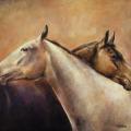 Pferdemalerei Pferdefreunde 2
