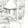Zeichnung Usambaraberge