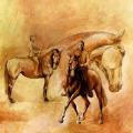 Pferdemalerei Baucher
