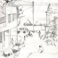 Zeichnung Tanga