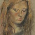 Portrait Studie Pastell