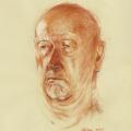 Portrait zeichnung kreide