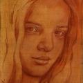 Portraitstudie Kreide