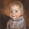 Portrait gemalt